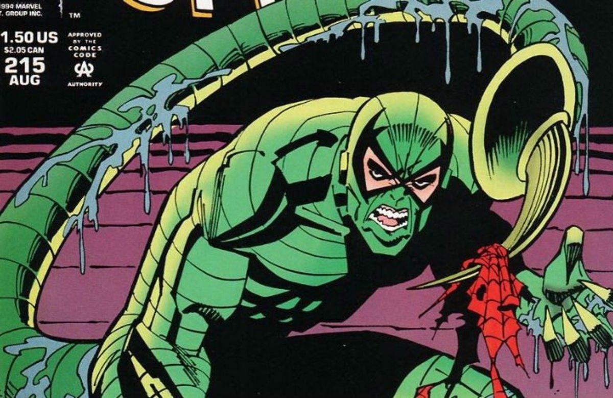 Mac Gargan as the Scorpion