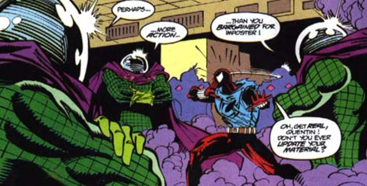 Mysterio's illusions