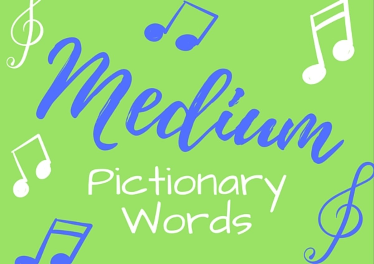 Medium Pictionary Words