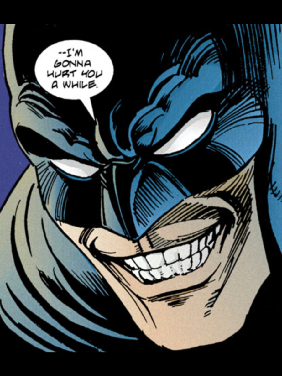 Batman on Venom