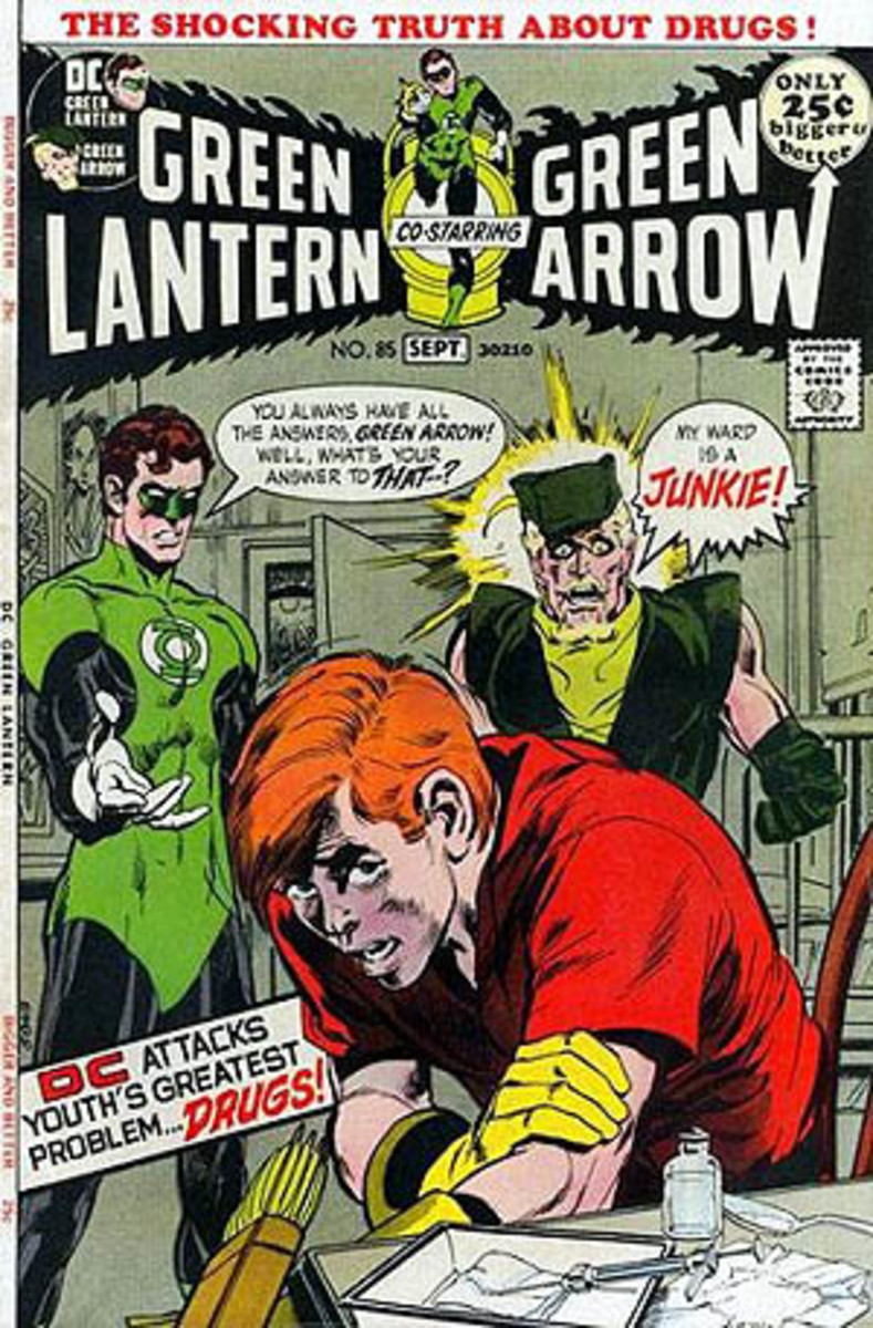 The landmark issue Green Lantern #85 by Denny O'Neil and Neal Adams