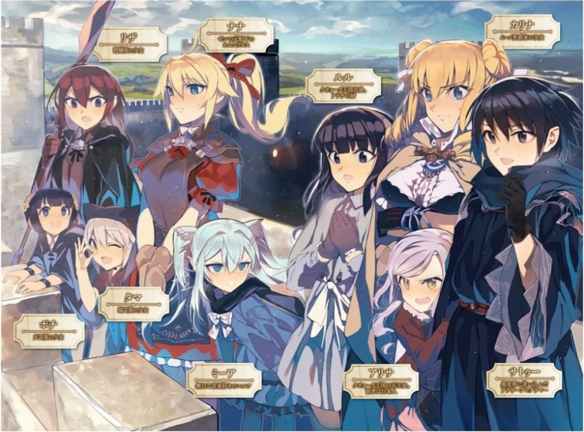 Death March kara Hajimaru Isekai Kyousoukyoku Characters