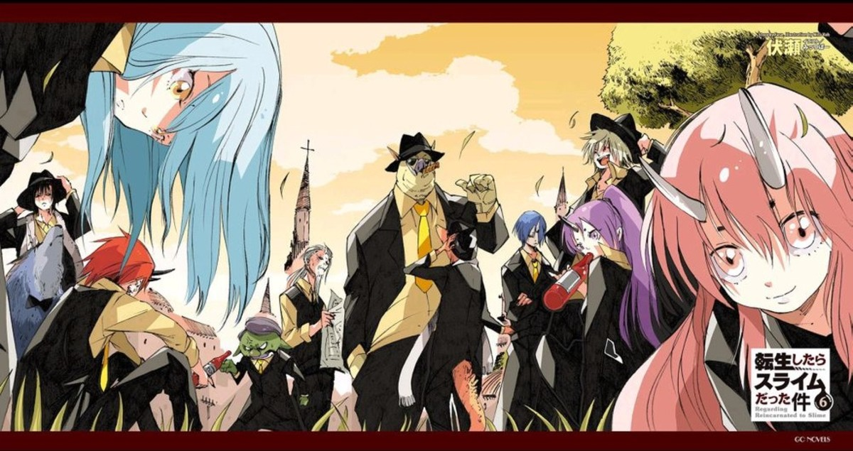 Tensei Shitara Slime Datta Ken Characters