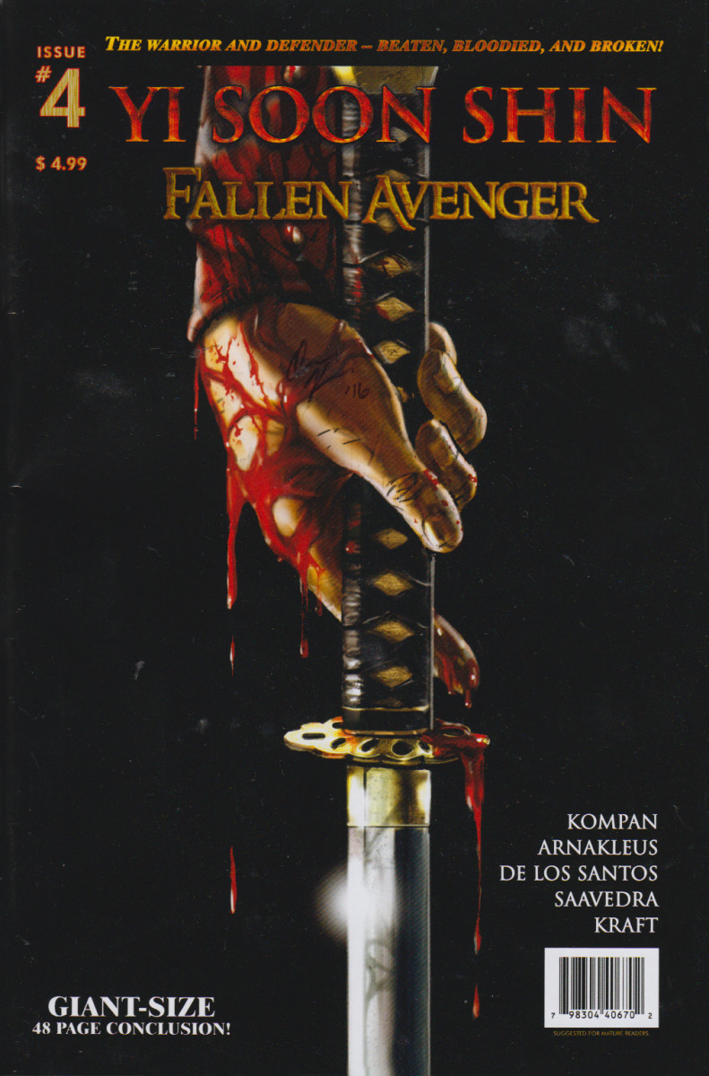 Issue # 4 of Yi Soon Shin Fallen Avenger