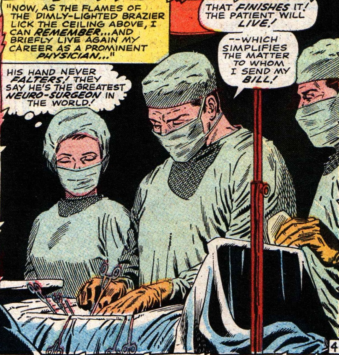 Stephen Strange - The Greatest neurosurgeon in the world.