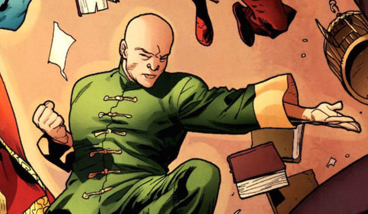 Dr Strange's Valet Wong in the comics