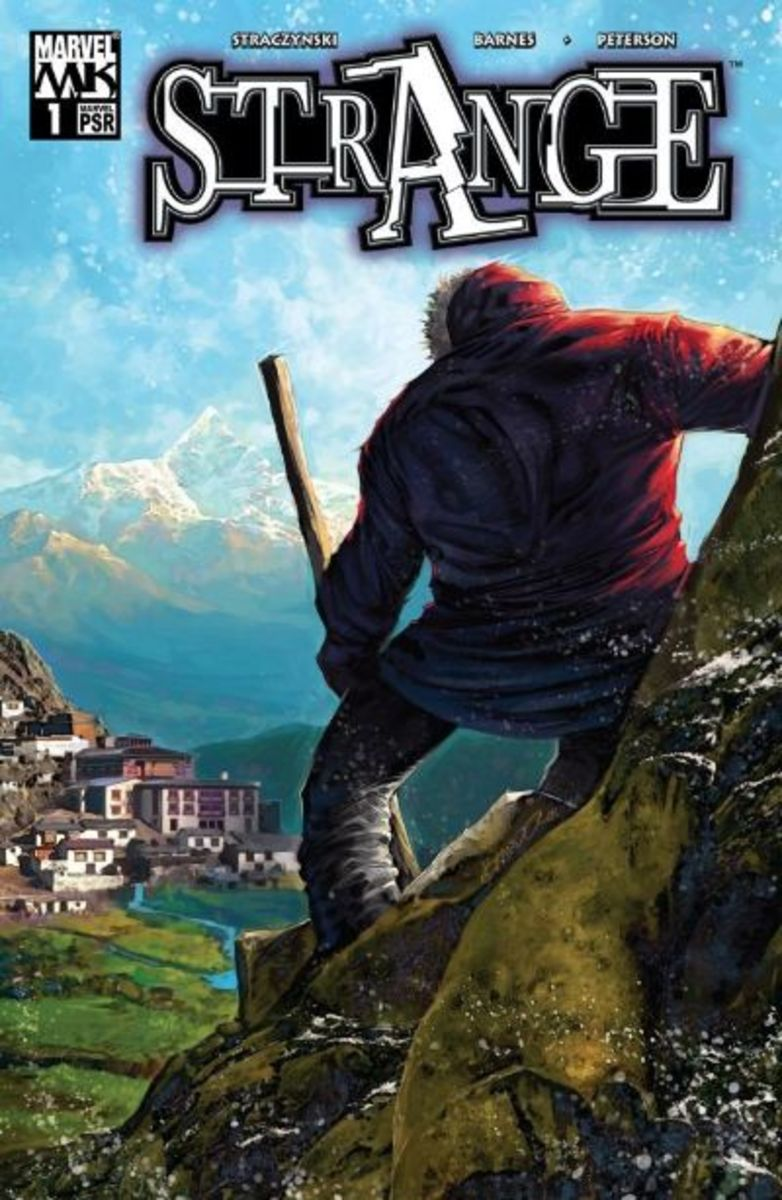 Strange journeys to Tibet to the mystical city of Kamar-Taj in search of the Ancient One.