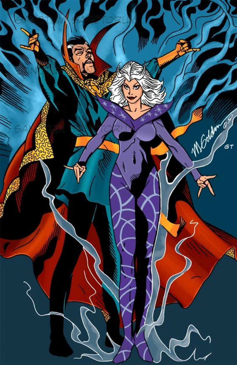 Dr Strange and Clea