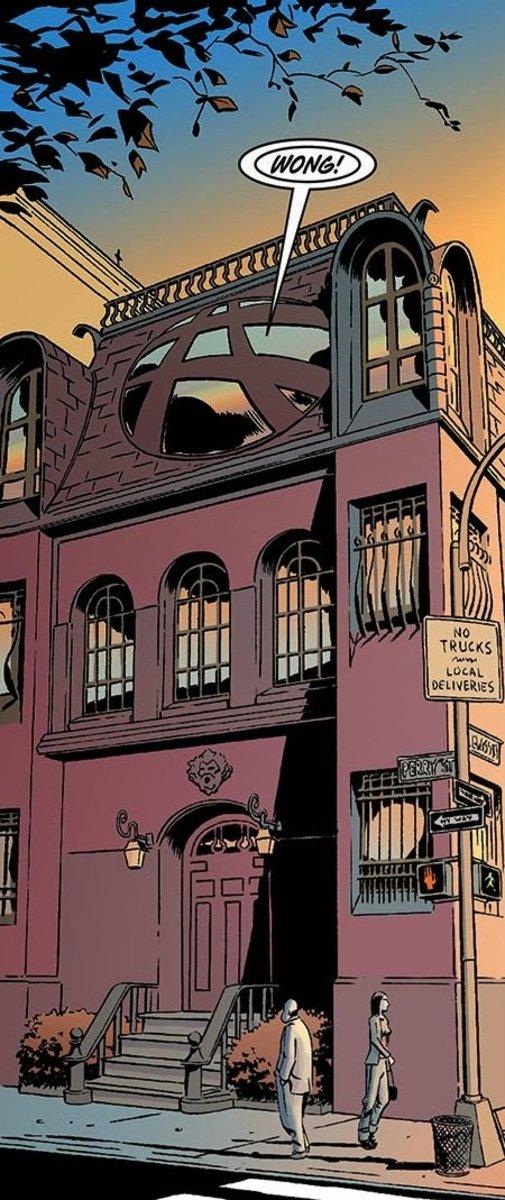 The Sanctum Sanctorum of Doctor Strange