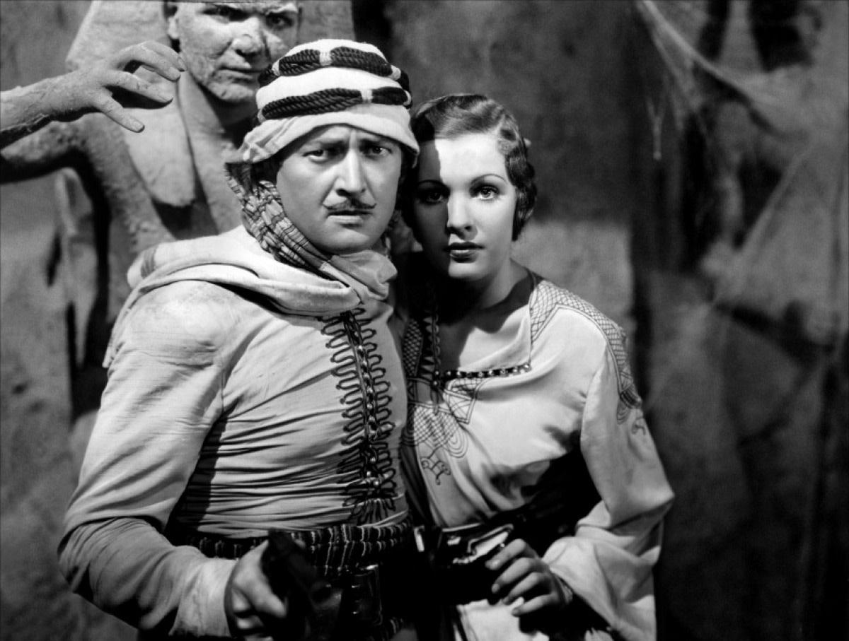 Edmund Lowe as Chandu the Magician in the 1932 film.