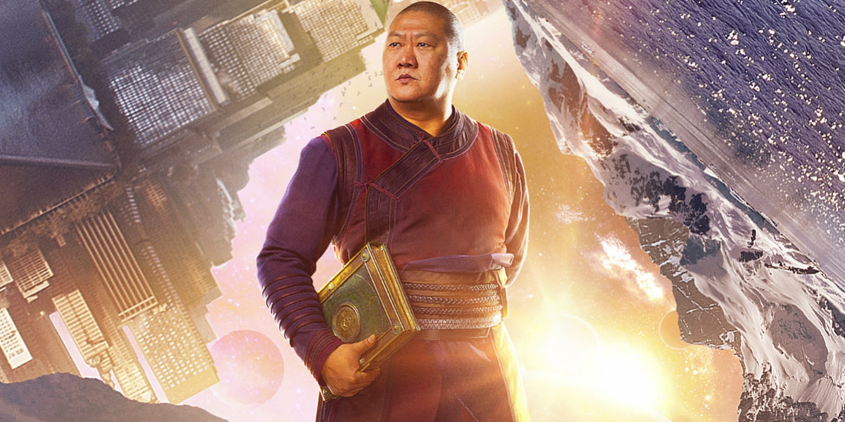 Actor Benedict Wong ( star of  the TV series Marco Polo) plays Wong. Serendipitous. yes.