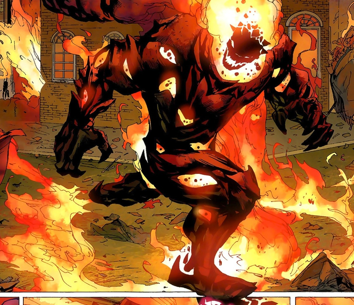 Dormammu - Doctor Strange's nemesis from the Dark Dimension