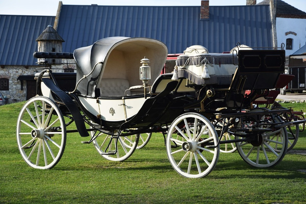 Were there carriages or another form of transportation in the era you're describing?