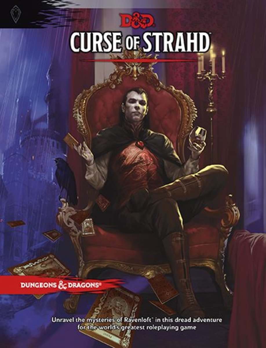 The Curse of Strahd is one of the many adventures available for Dungeons and Dragons.