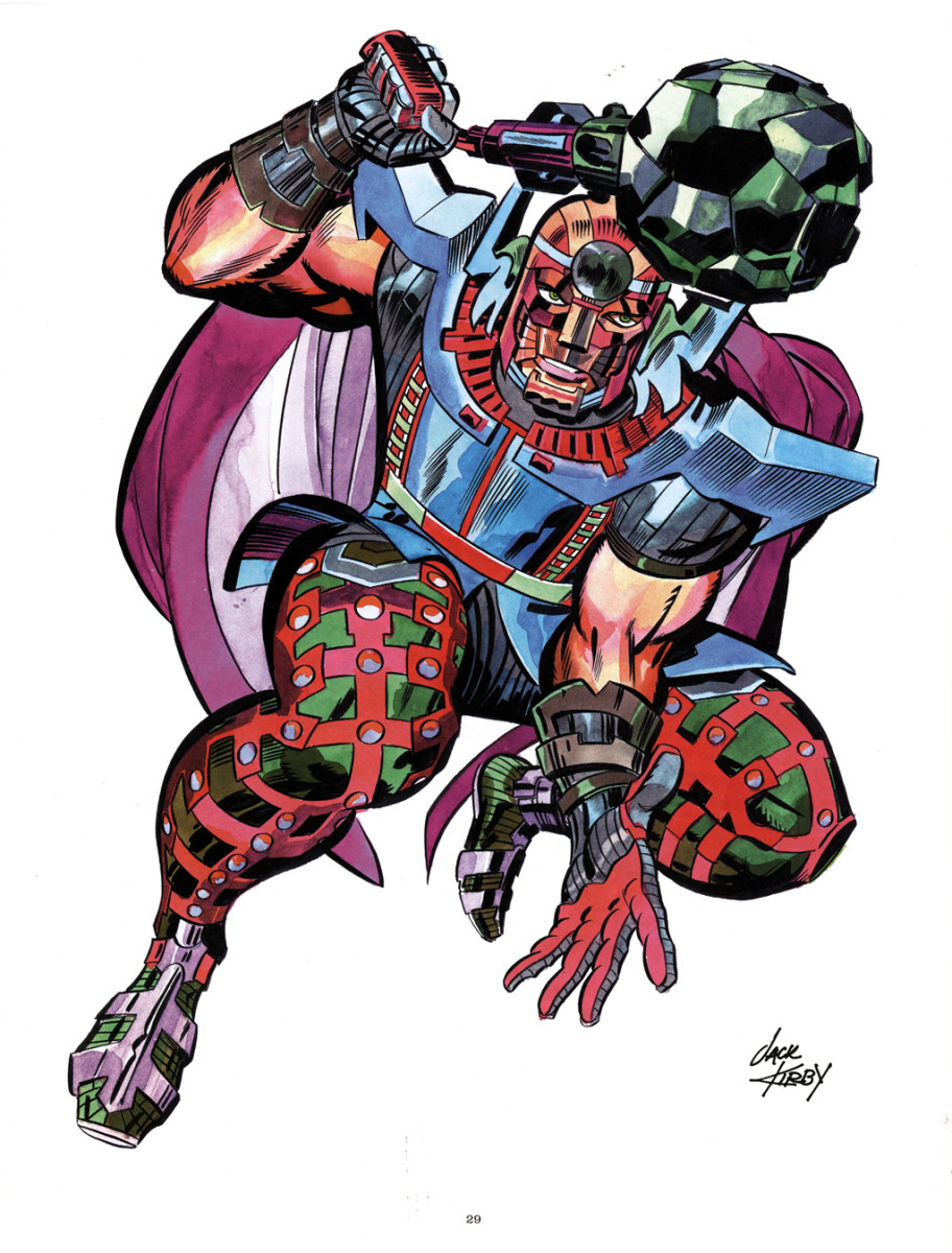 Honir envisioned by Jack Kirby