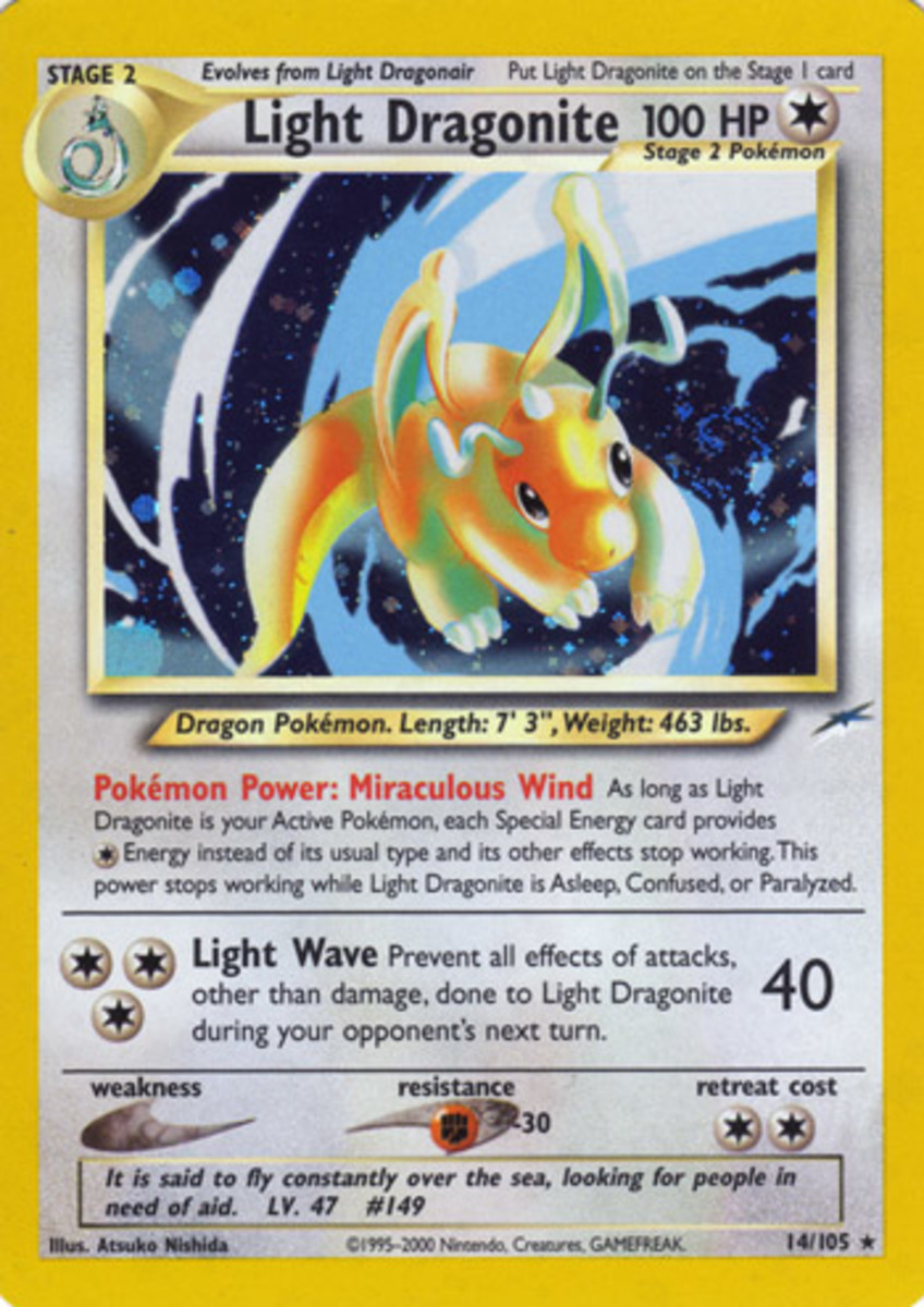 Light Dragonite