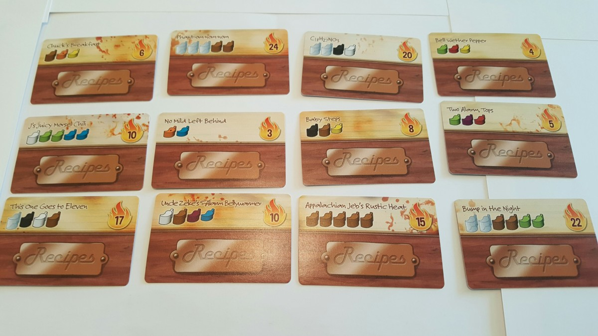 Scoville recipe cards