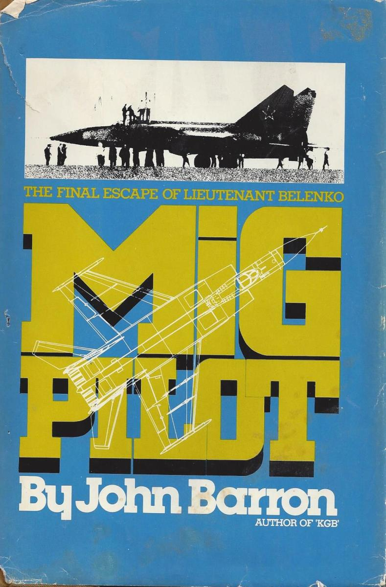 "The Cover of ""MiG Pilot"""
