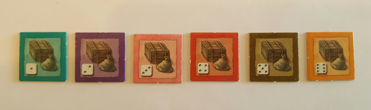 Goods Tiles-The Castles of Burgundy
