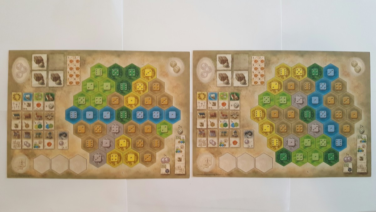 Player Boards-The Castles of Burgundy
