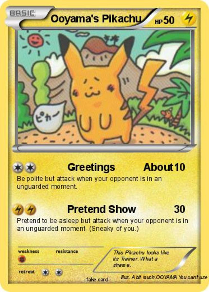 Ooyama's Pikachu