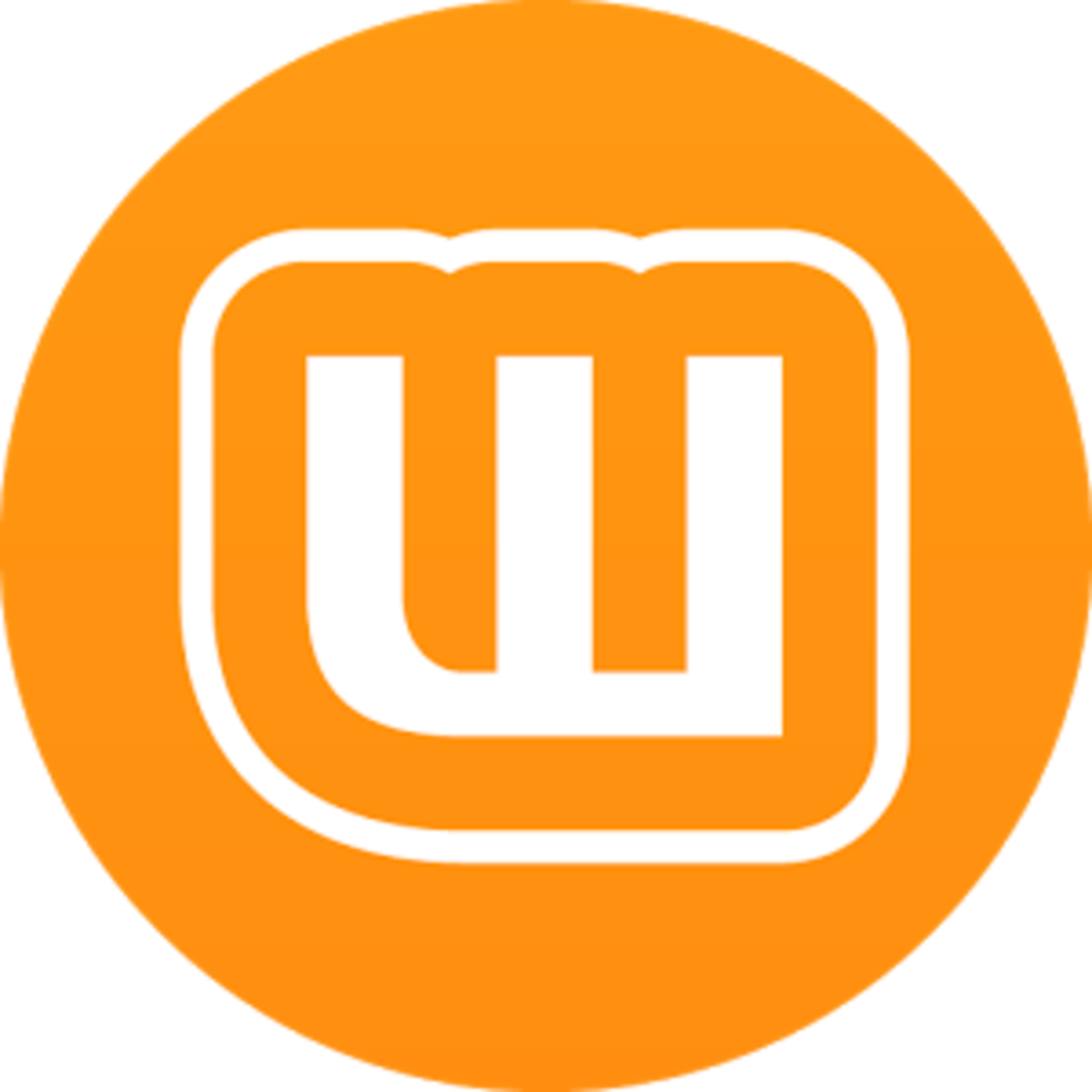 "The logo for writing app ""Wattpad"", a popular place to find many fanfictions"