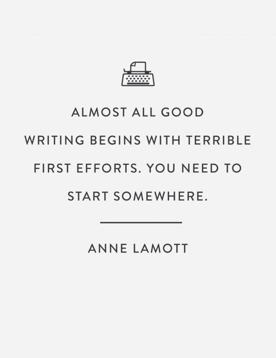A very beautiful and true quote said by Anne Lamott,