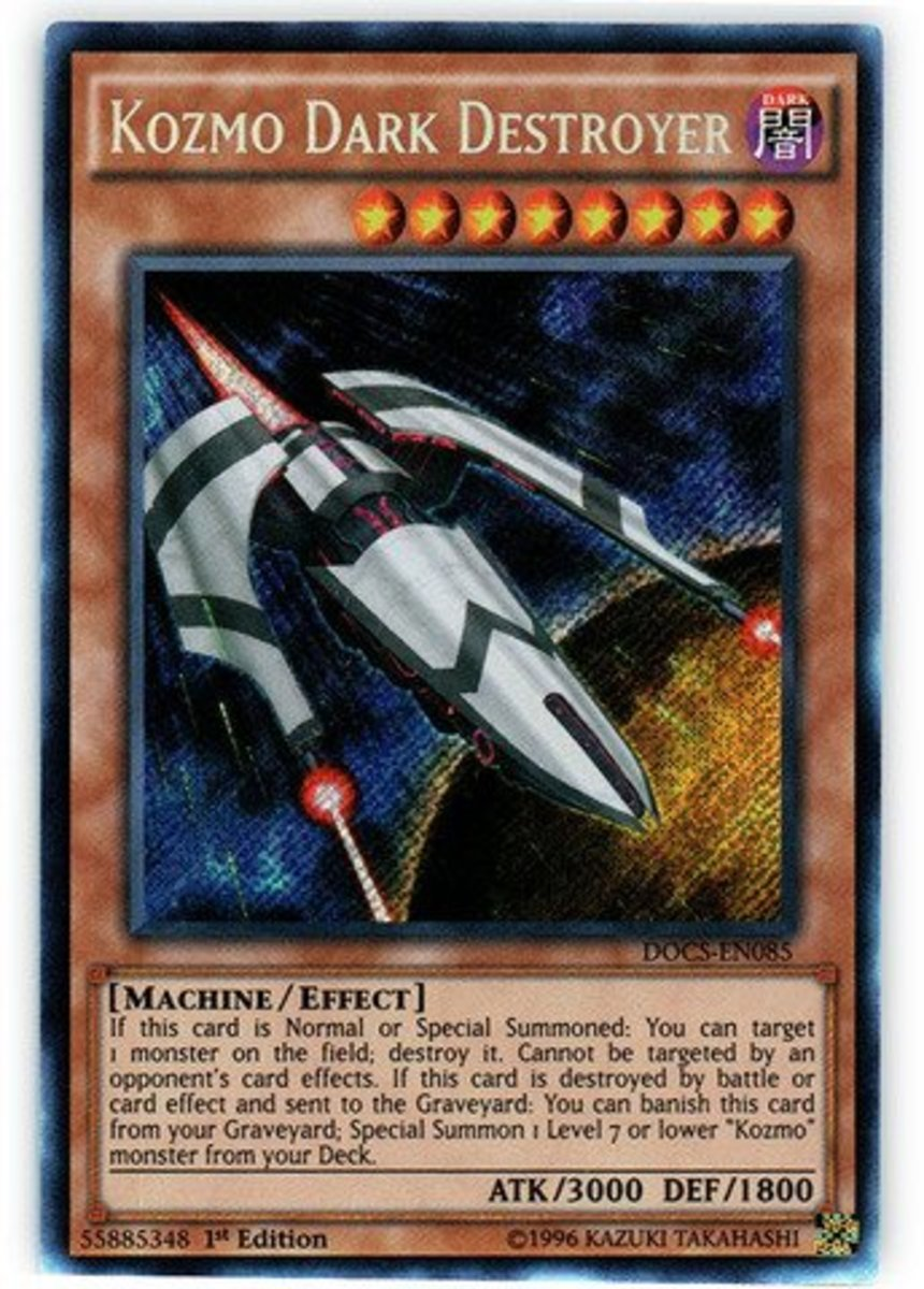 Try targeting a Kozmo Dark Destroyer, and your opponent will hump his shoulders then begin badly humming Duel of The Fates.  This is why understanding what effects target is important.
