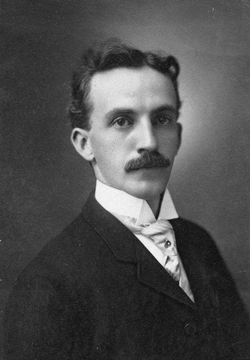 Numismatist Farran Zerbe circa 1908.