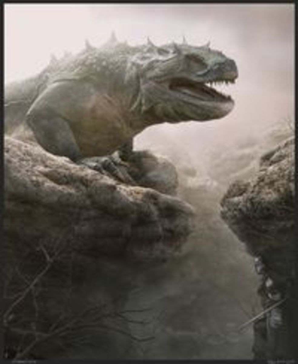 Glaurung is the only external factor that intentionally tries to steer Turin's fate when he decieves him into going back to Dor-lomin rather than rescue the survivors of Nargothrond.