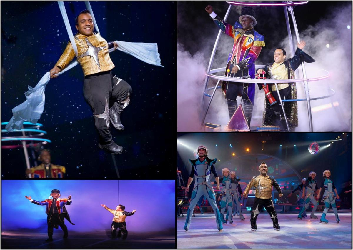 Paulo dos Santos with Ringling Bros. and Barnum & Bailey Circus