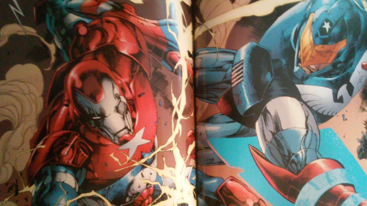"""""""Spidey! Help Harry! He's the one in the Star-Spangled armor!"""