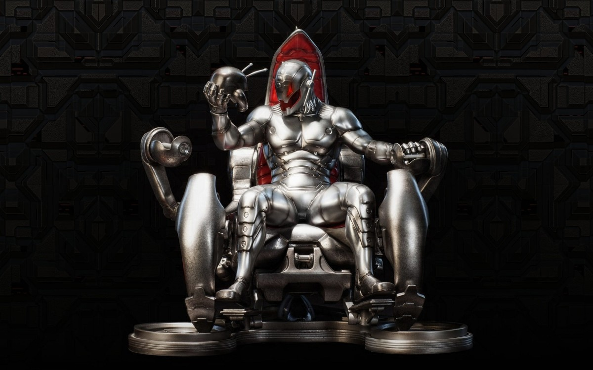 Ultron's skin is made of adamantium