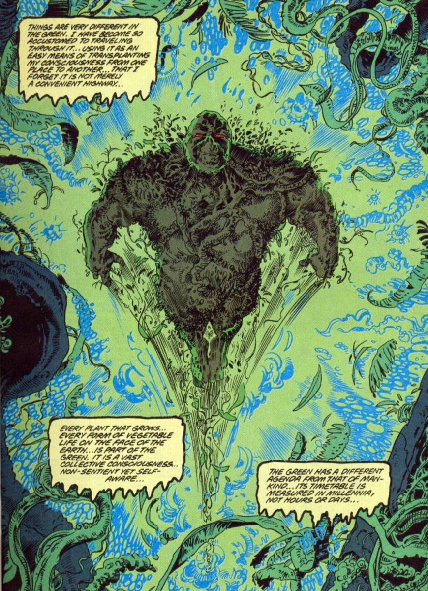 The Swamp Thing in the Green