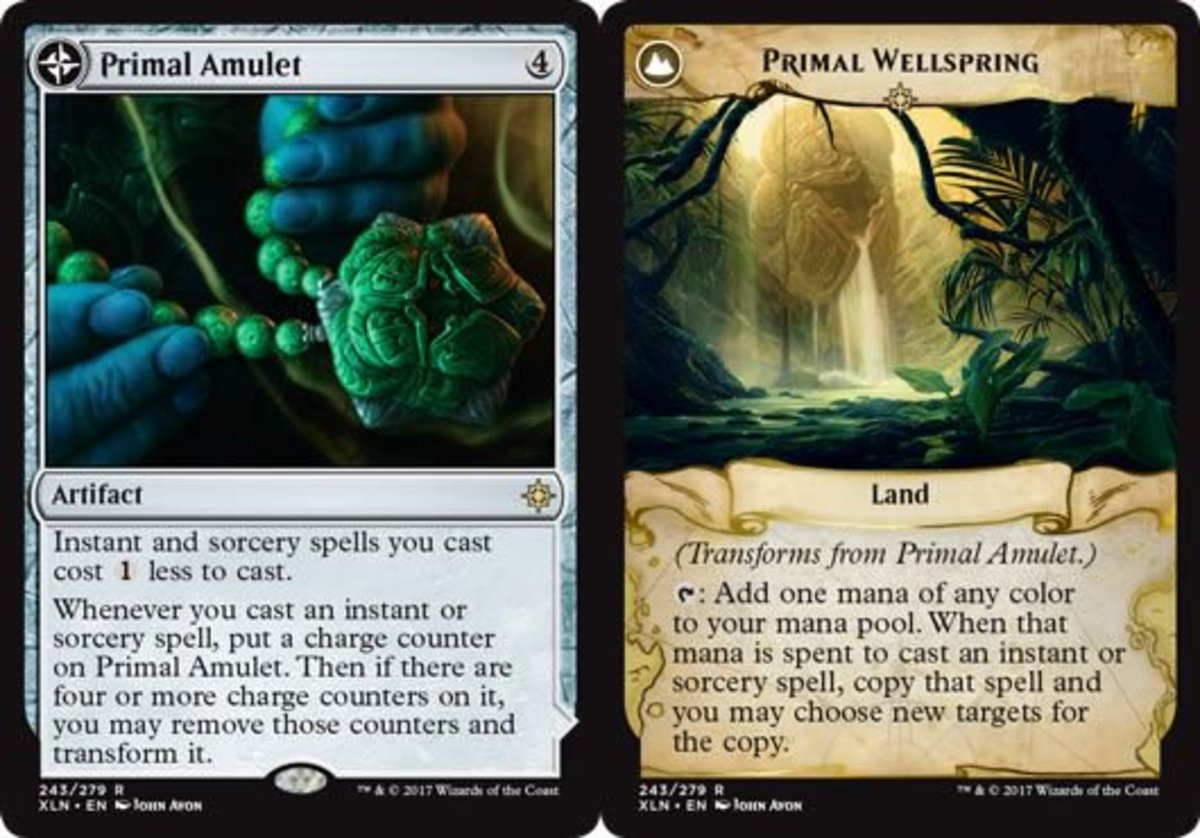 Primal Amulet/Primal Wellspring