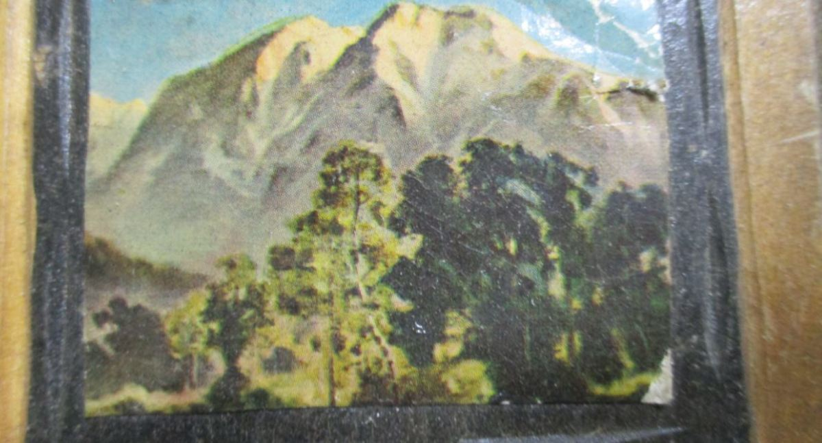 mountain scene picture,
