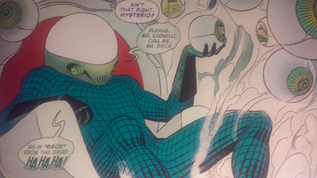 Yeah, really good pun, Mysterio. Worth a couple chuckles, I suppose.