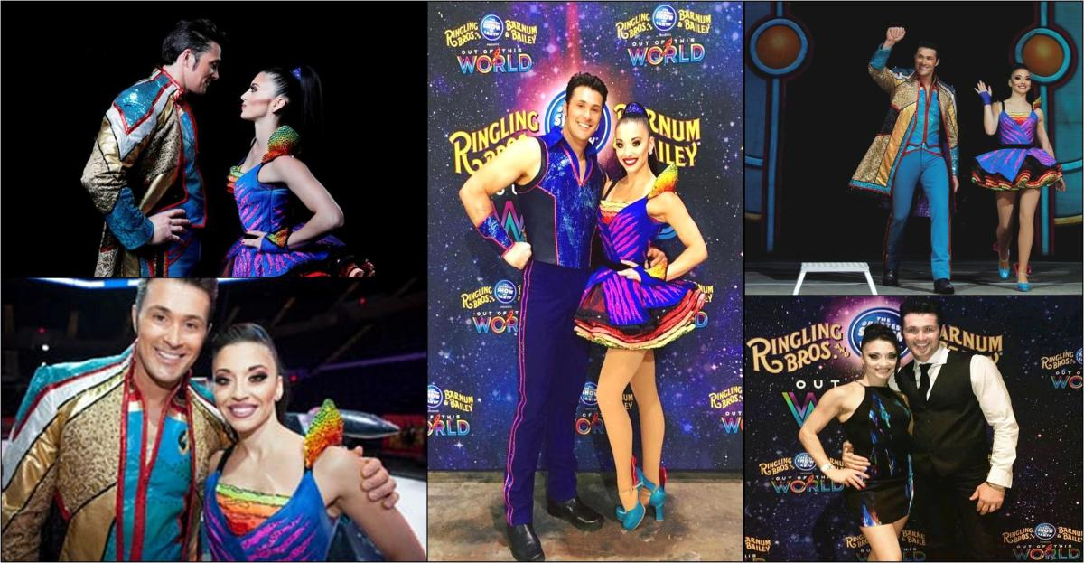 Alexander Lacey and Katie Azzario-Lacey.  Ringling Bros. and Barnum & Bailey presents Out Of This World (2016-2017)