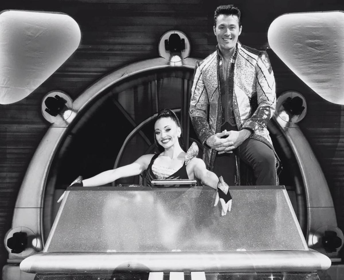 Katie and Alexander Lacey. Ringling Bros. and Barnum & Bailey presents Out Of This World (2016-2017)