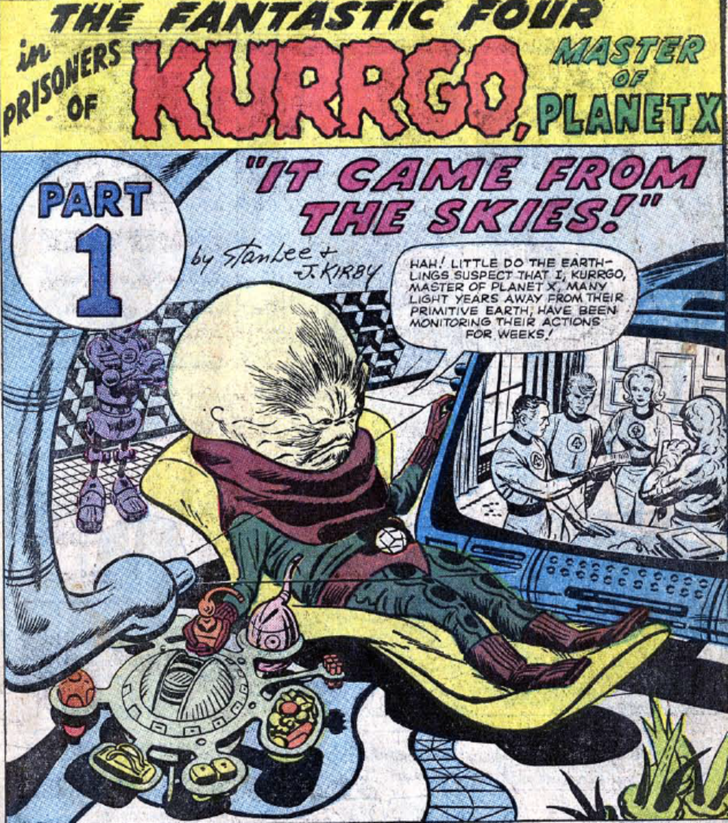 Kurrgo, master of Planet X