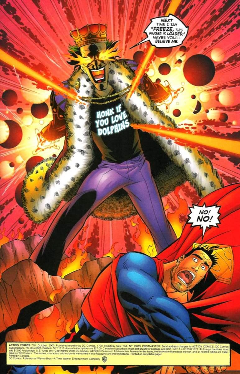 Joker and phenomenal cosmic power don't mix.