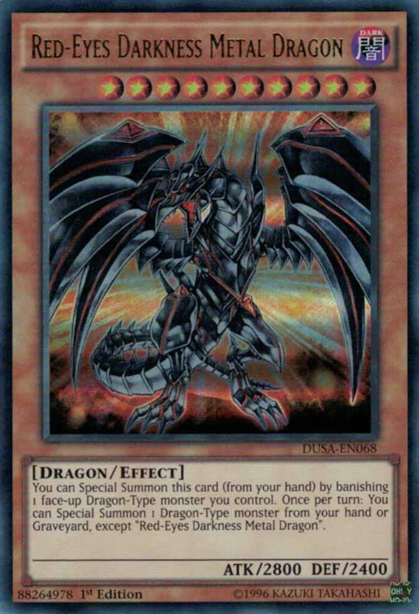 Red-Eyes Darkness Metal Dragon