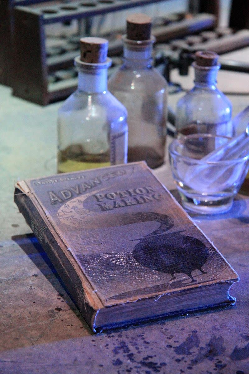 It is a popular fan theory, that Ginny used a love potion on Harry. The love potions created by the Weasley twins were smuggled into Hogwarts, during the time frame of The Half Blood Prince.
