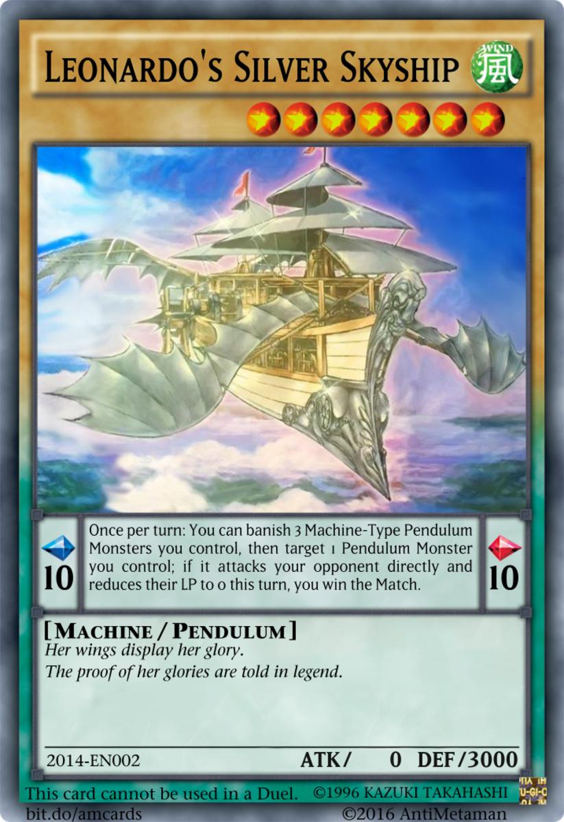 Leonardo's Silver Skyship