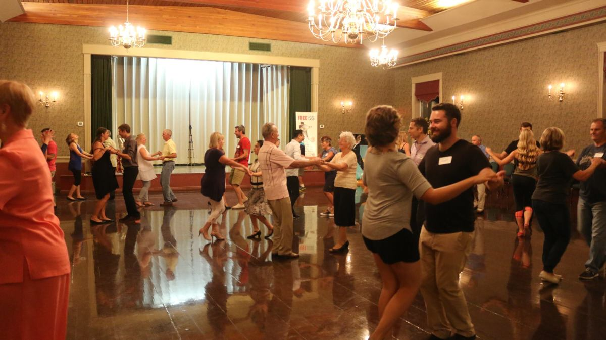Group classes provide partners for you, so you don't need to bring one with you!