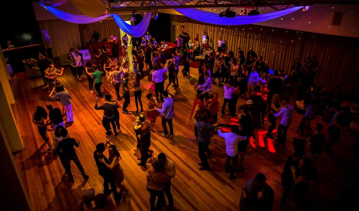 "You don't have to compete or go on ""Dancing with the Stars"" if you take dance lessons. There's plenty of nightclubs and dance parties where you can go practice your dancing and enjoy yourself without having to compete or perform."