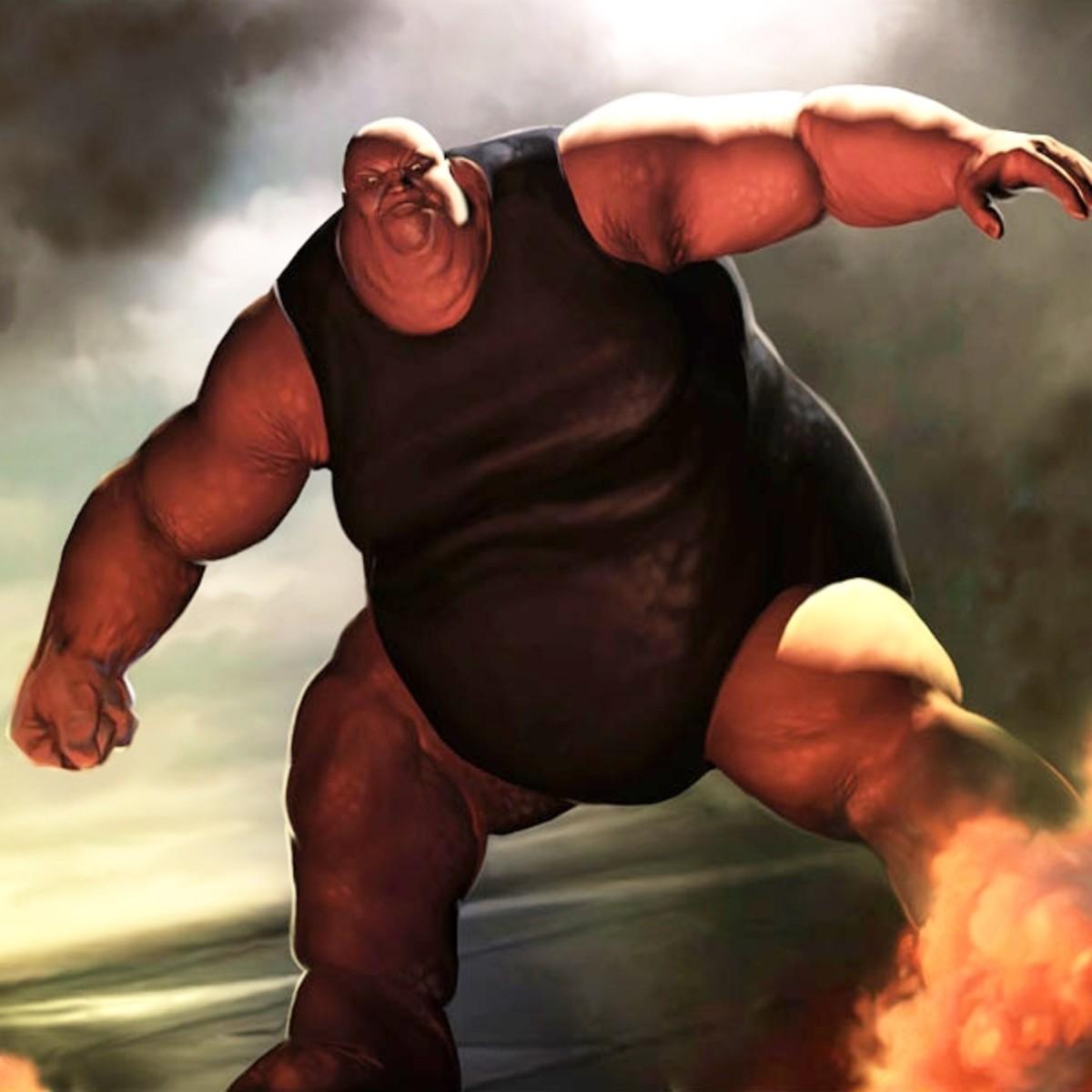 Fred J Dukes - aka The Blob