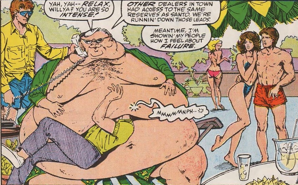 Six Obese Marvel Characters