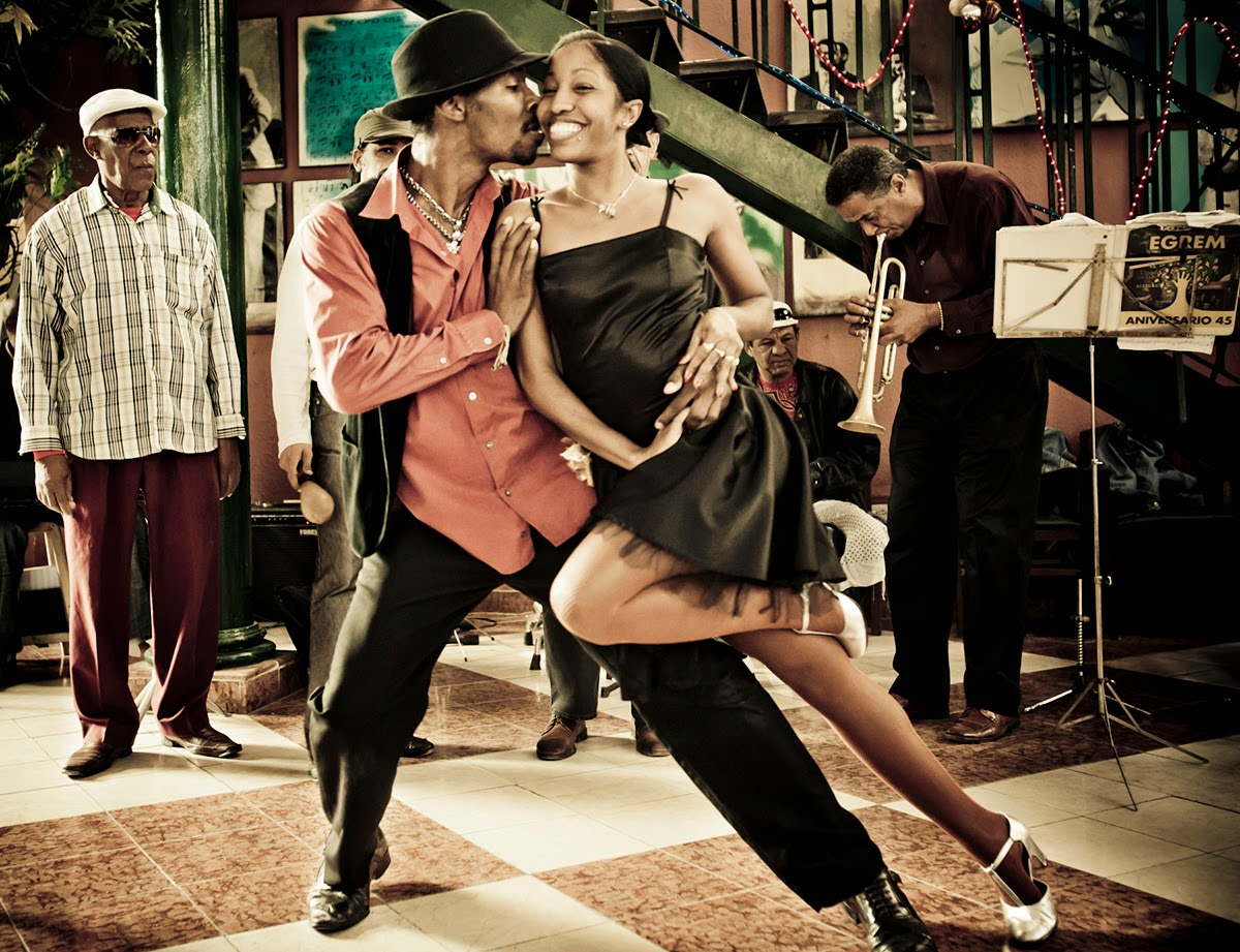 If you're not matched up with your partner in terms of skill level, it can make it difficult to dance together successfully