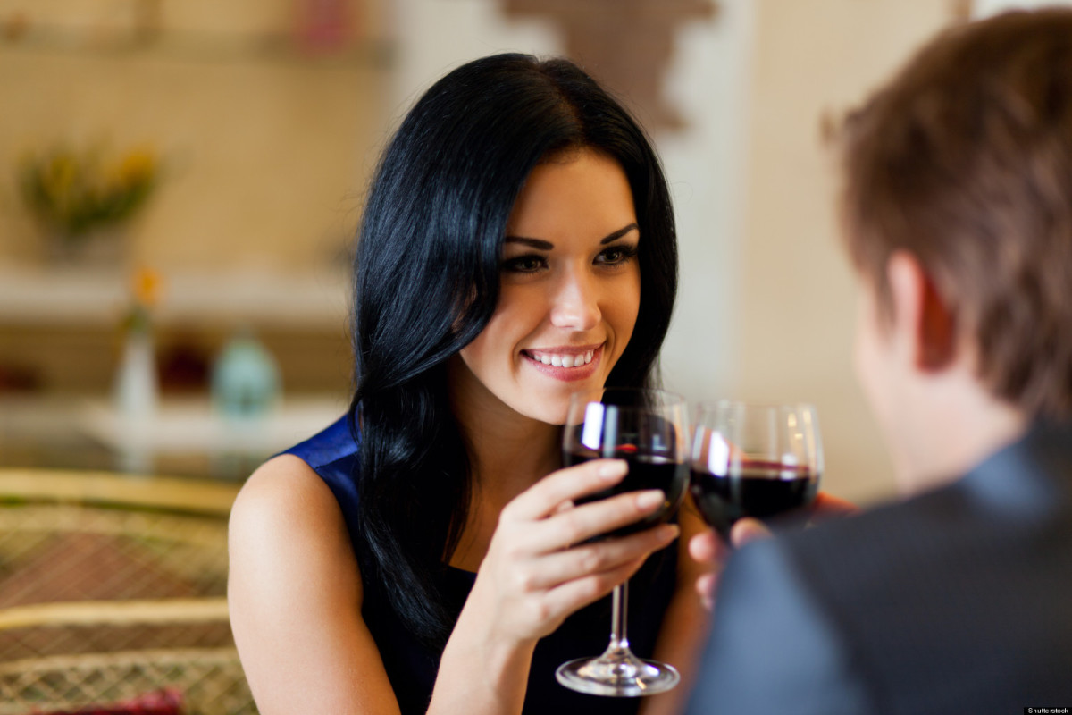 Sometimes a woman is on a date and doesn't want to be interrupted